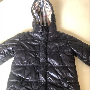 Burberry hooded puffer coat Authentic